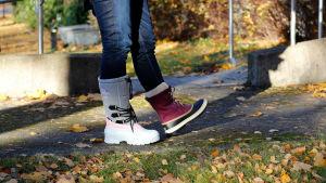 Kungskonsumenten testar skor. OBS Använd bara till Kungskonsumenten-artikel!