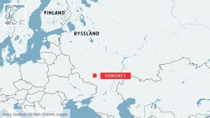 Sjukhusbrand i Ryssland.