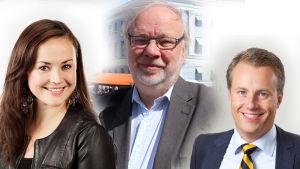 Silja Borgarsdóttir Sandelin, Björn Månsson, Marcus Rantala