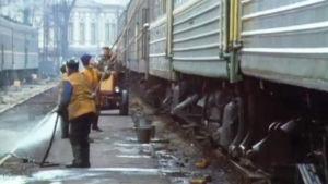 Tåg i Estland.