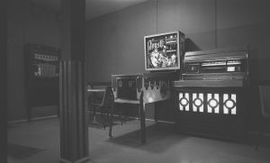 Gammaldags bar.