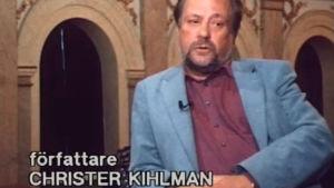 Christer Kihlman i en intervju.