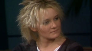 Eva Dahlgren i en intervju 1984.