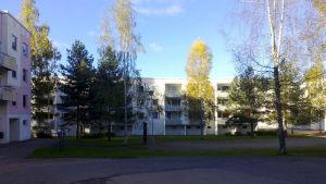 Mottagningscentral i Rekola i Kouvola.