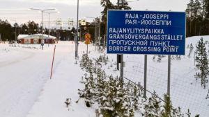 Finlands gräns mot Ryssland Raja-Jooseppi