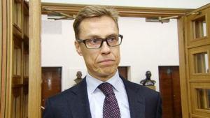 Alexander Stubb, finansminister och ordförande för Samlingspartiet
