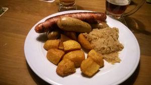 wieniläinen ruokalautanen