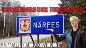 Succémorgons turistbyrå: Närpes