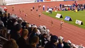 Flickornas 4x100 m på Stafettkarnevalen 1998.