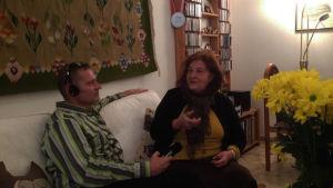 Vesa Kytöoja haastattelee Irina Gavrilovicia
