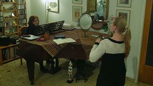 Irina Gavrilovici opettaa