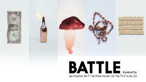 Battle – loppu öyhötykselle! Yle.fi/battle 24/7, Yle puhe ma klo 16 ja yle tv2 to klo 22. #ylebattle