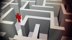 labyrintti, piirroskuva