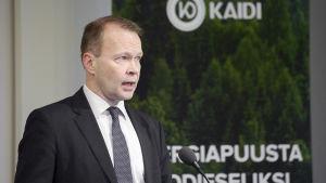 Vd för Kaidi Finland, Pekka Koponen