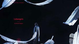Kööpenhaminan oopperatalon Lohengrin-juliste