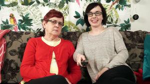 Sohvaperunat-sarjan toinen tuotantokausi, ranualaiset Marja ja Eija