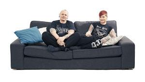 Sohvaperunat-sarjan toinen tuotantokausi, vantaalaiset Ilari ja Niina