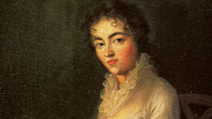 Joseph Langen muotokuva Constanze Mozartista vuodelta 1782