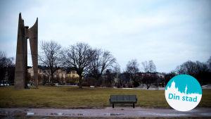 Eviga elden i Eirastranden i Helsingfors.