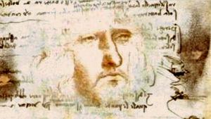 Självporträtt av Leonard da Vinci