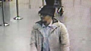 Misstänkt terrorist på Bryssels flygplats Zaventem.