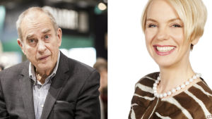 Jörn Donner och Baba Lybeck