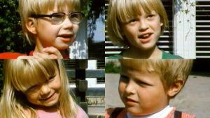 Lapset kertovat toiveammateistaan  Lasten ammatit – Liikenteen tietoiskussa 1974