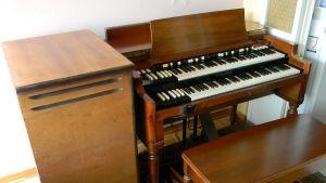 En Hammond B-3-orgel