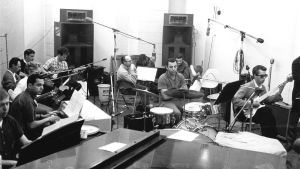 The Wrecking Crew i inspelningsstudio i Los Angeles