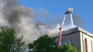 Eldsvåda i Björneborg