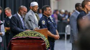 Muhammad Alis begravning