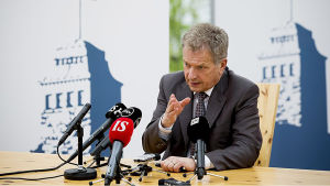 Kultaranta-keskusteluja isännöi tasavallan presidentti Sauli Niinistö Naantalissa 19. - 20. kesäkuuta.
