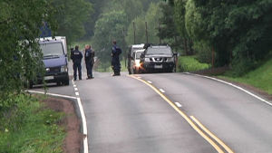Polis sköts ihjäl i Vichtis