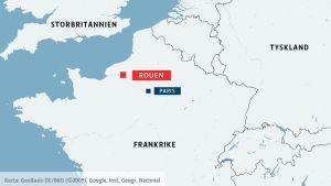 Rouen i Frankrike