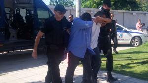 Turkiska officerare flydde till Grekland efter militärkuppen