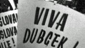 Tšekkoslovakian miehitystä vastustava mielenosoitus