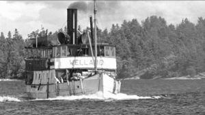 Ångfartyg i Skärgårdshavet.