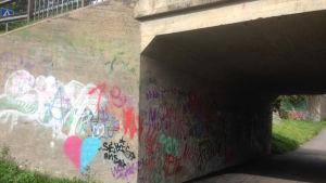 Tunnel vid Bjönsstigen i Kyrkslätt