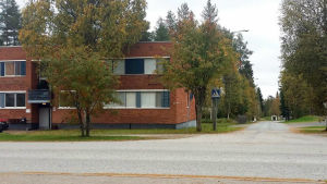 Flyktingförläggningen i Otanmäki, Kajana.