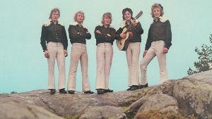 Dansbandet Lasse Stefanz år 1972
