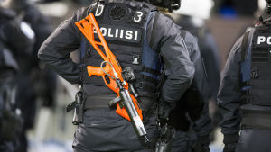 Våld på fotbollsmatchen HIFK-HJK