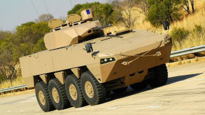Sydafrika köper pansarfordon av Patria