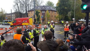 Trafikolycka i London
