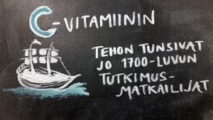 C-vitamiini tunsivat jo 1700luvun tutkimusmatkailijat