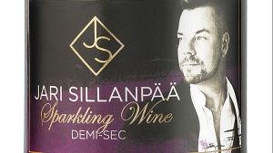 Etiketten på Jari Sillanpää-skumvin