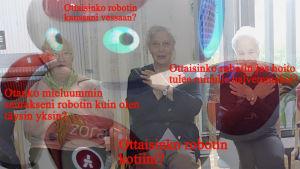Kuva Seppo Heikkisen hoitorobotiikka juttuun