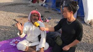 Expressen-journalisten magda Gad besöker Mosul