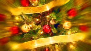 joulukuusi, käsitelty kuva