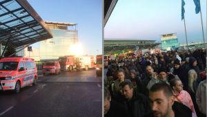 Alarm på Helsingfors . Vanda flygplats