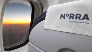 Flygbolaget Norras flygplansstol.